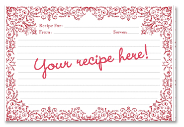 Recipe Card Cookies Clipart - Clipart Kid