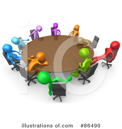 Staff Meeting Clip Art  Rf  Meeting Clipart