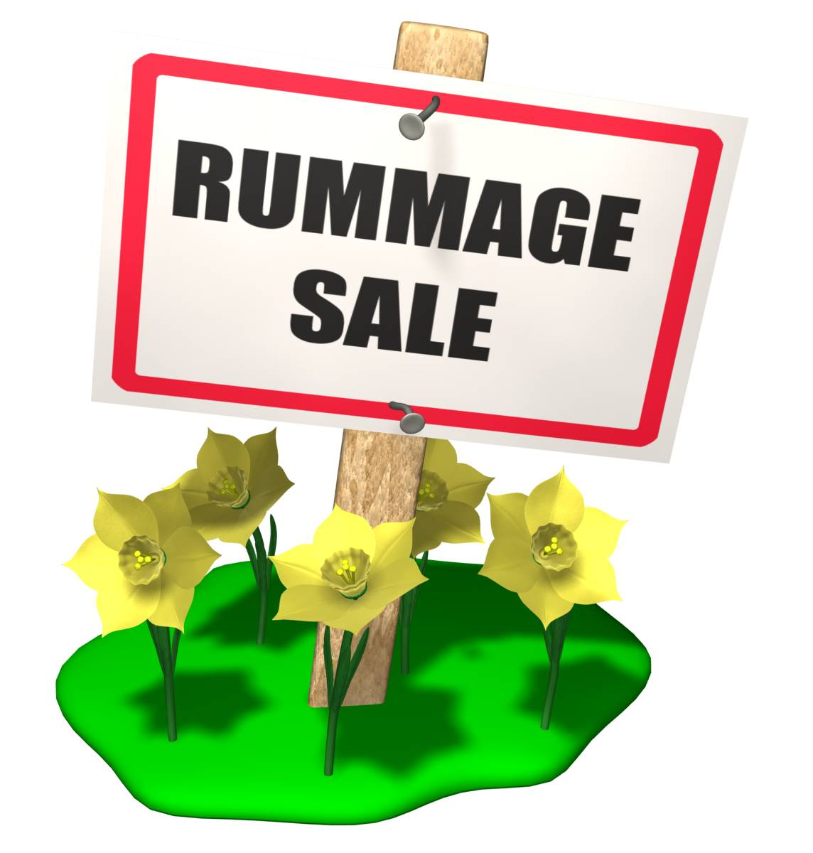 Viewing Gallery For   Rummage Sale Clip Art