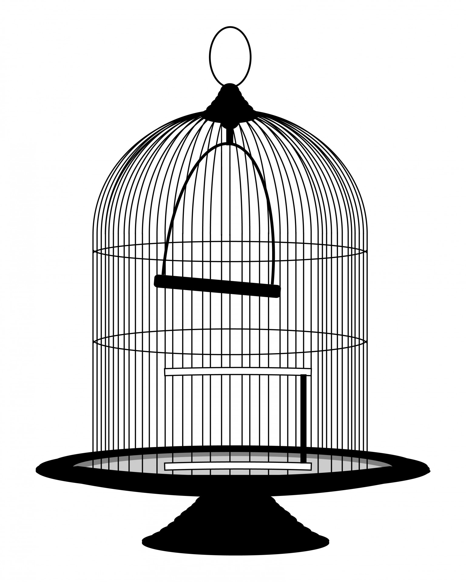 Vintage Birdcage Victorian Clipart Free Stock Photo Hd   Public Domain