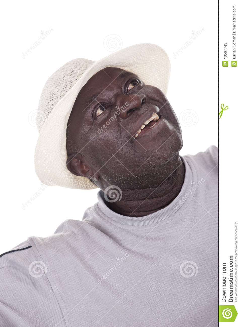 Wish You Happy Retirement Senior African American Man With White