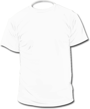 T-shirt Black And White Clipart - Clipart Kid