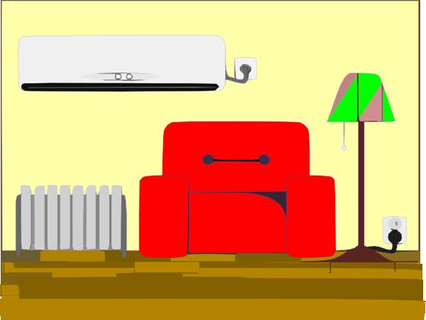 Big Living Room Clip Art At Clker Com   Vector Clip Art Online