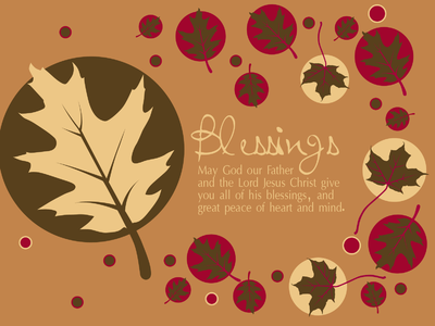 Blessings Clipart