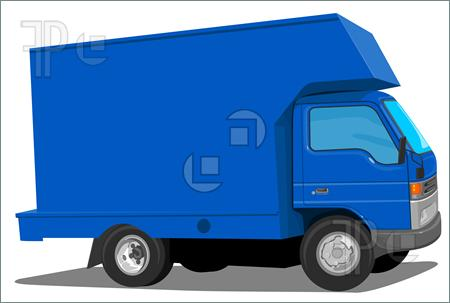 Blue Truck Movers Illustration  Clip Art To Download At Featurepics