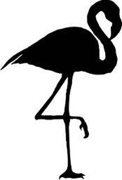 Flamingo Silhouette More Flamingos Free Free Clips Birds Flamingos Art