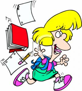 Finished Writing Clipart - Clipart Kid