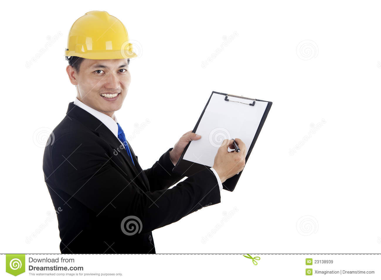 Safety Inspector Checklist Royalty Free Stock Images   Image  23138939