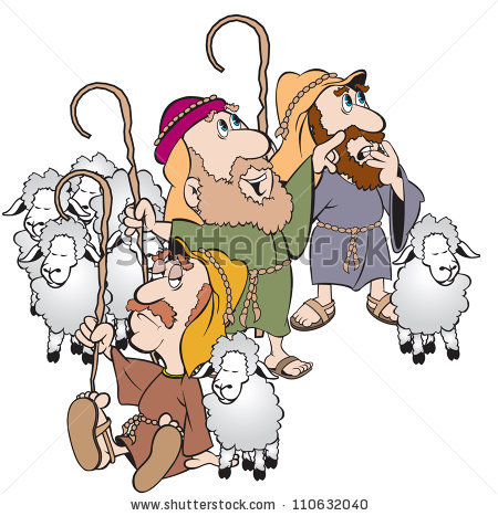 Shepherd And Sheep Clipart - Clipart Suggest