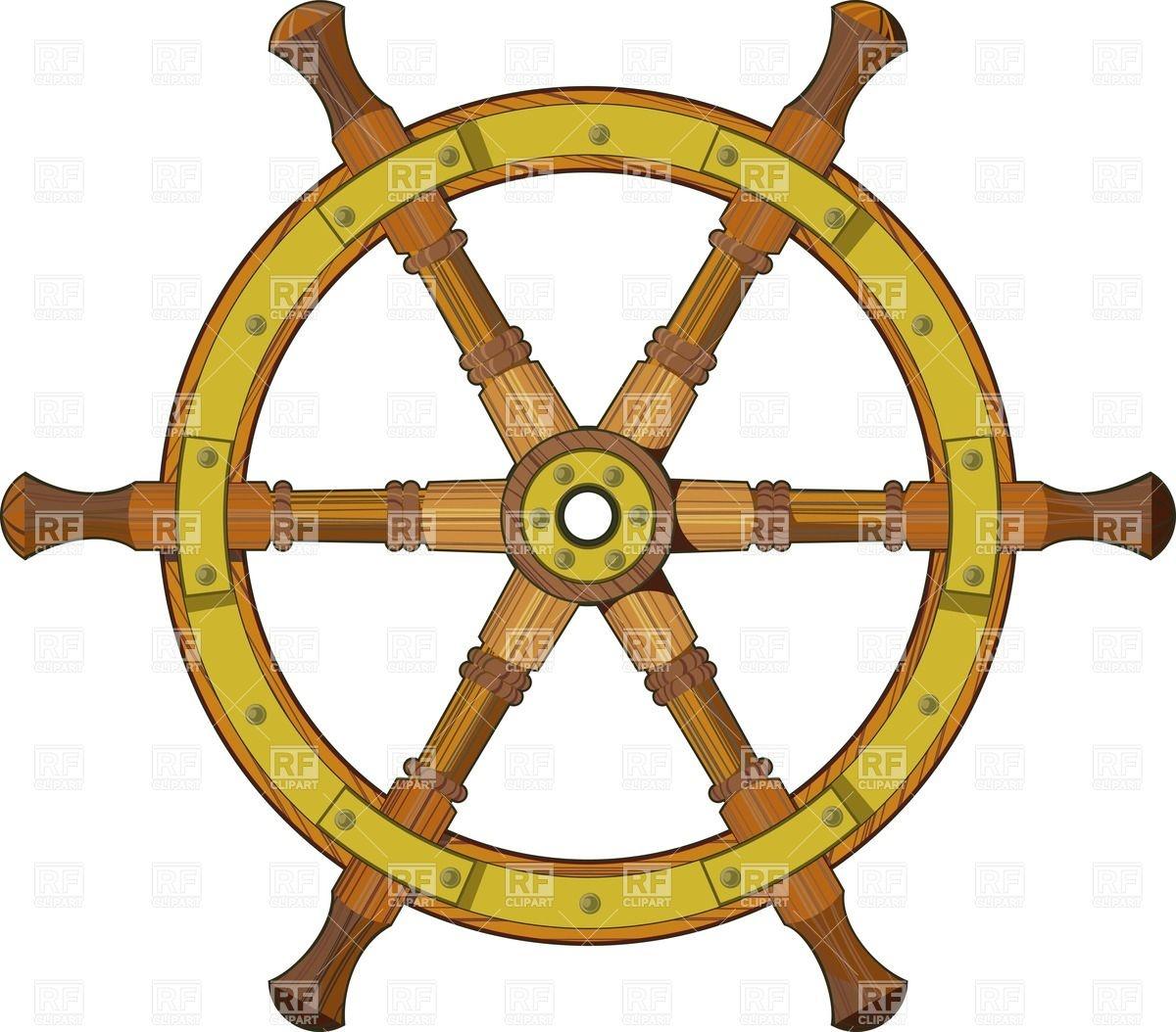 Pirate Wheel Clipart - Clipart Kid