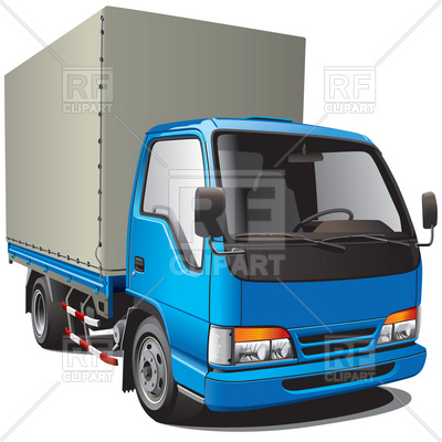 Truck 6240 Transportation Download Royalty Free Vector Clipart  Eps