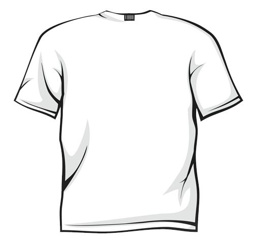 Clip Art T Shirt Clip Art t shirt black and white clipart kid best