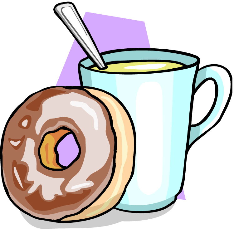 Coffee And Donuts Clipart   Clipart Panda   Free Clipart Images