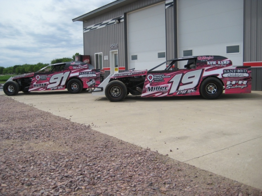 Dirt Modified Race Car Graphics