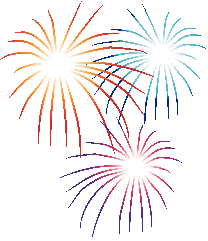 Cartoon Fireworks Clipart - Clipart Kid