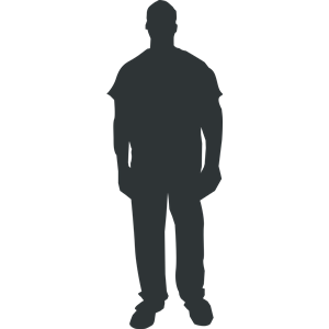 Person Outline 1 Clipart Cliparts Of Person Outline 1 Free Download