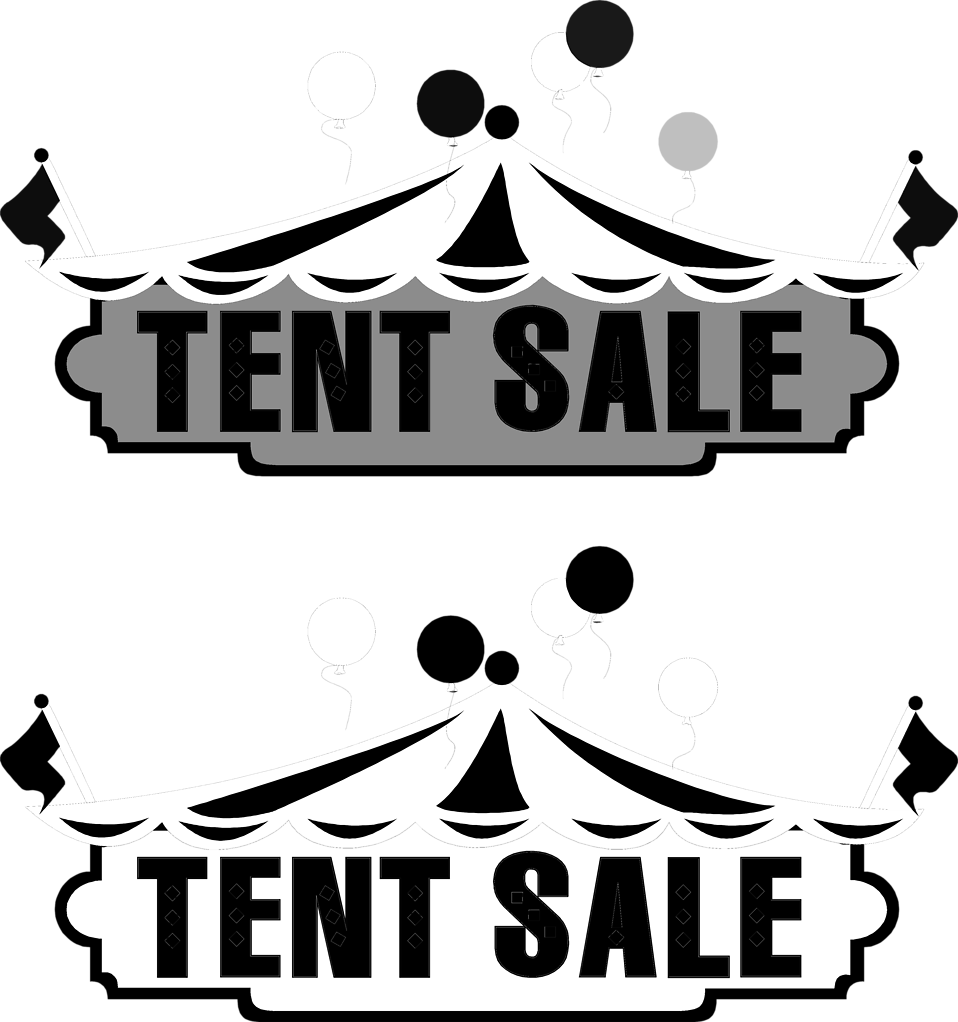 Sale   Free Stock Photo   Illustration Of Tents And Tent Sale Texts