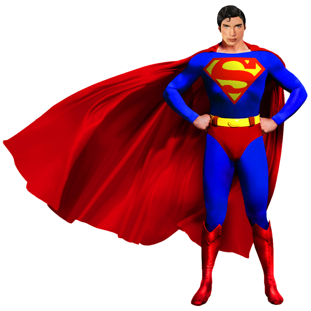 Man In Cape Clipart - Clipart Kid Superhero Flying Vector