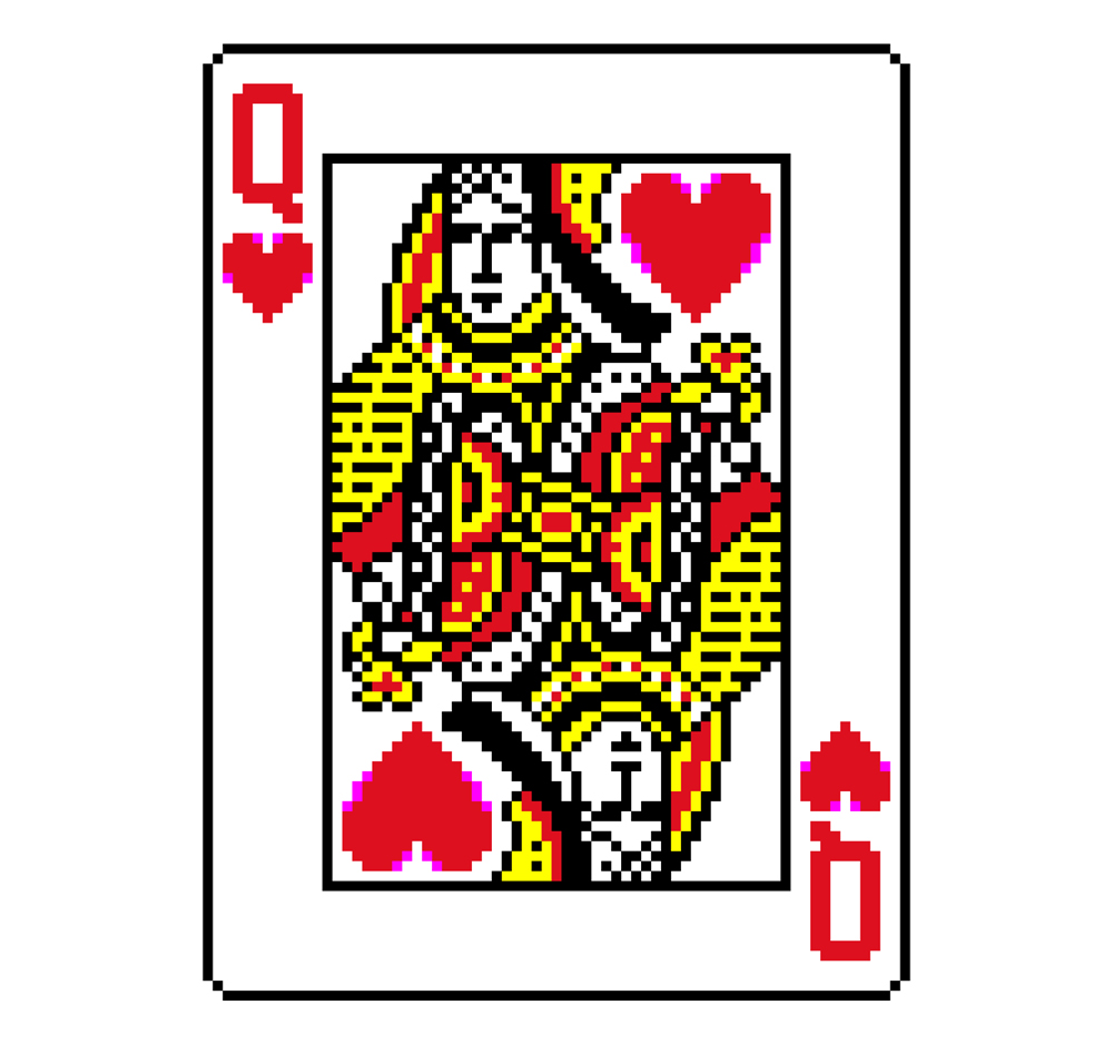 12 Queen Of Hearts Playing Card Free Cliparts That You Can Download To
