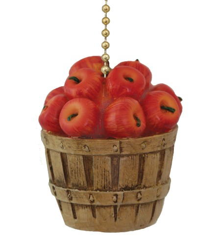 Details About Bushel Basket Full Of Apples Ceiling Fan Pull Or Light