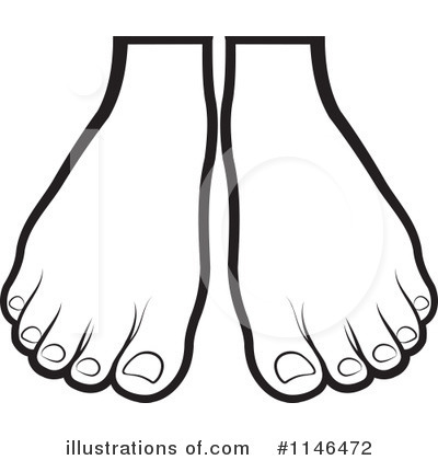 Feet Clipart  1146472   Illustration By Lal Perera