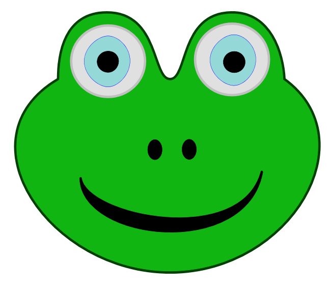 green frog clipart - photo #47
