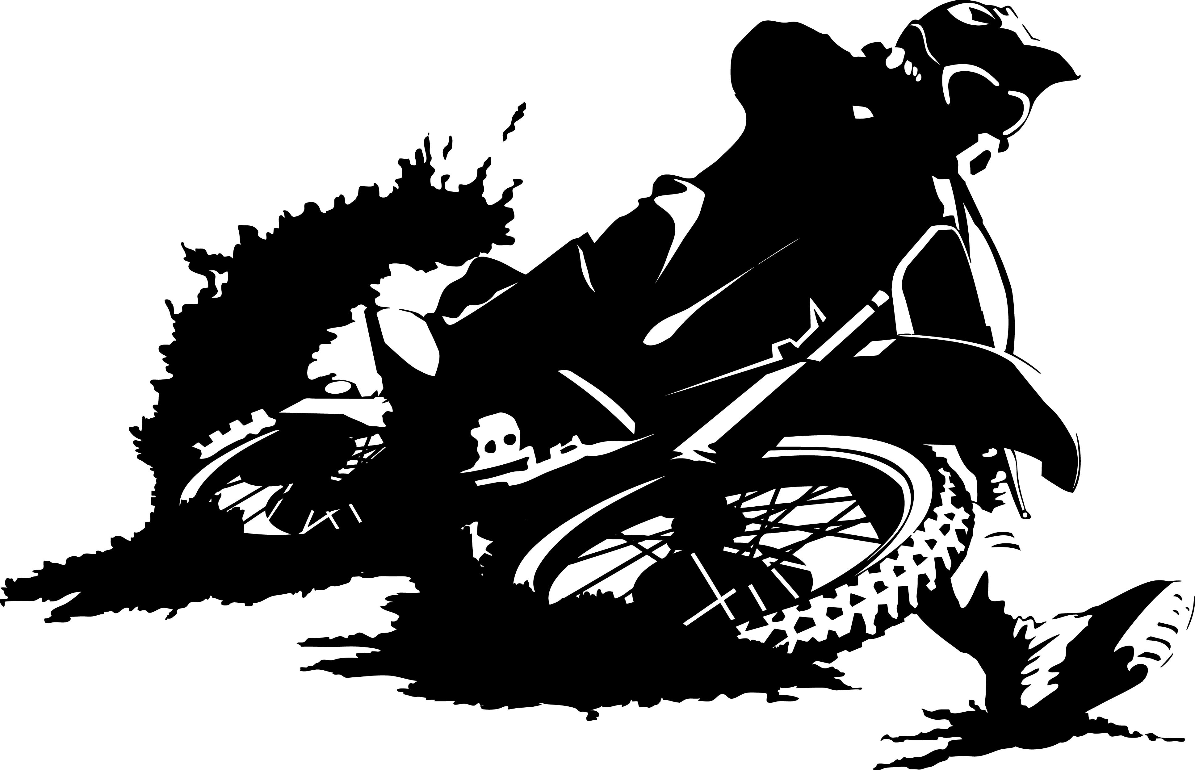 Motocross Dirt Bike Clipart - Clipart Suggest