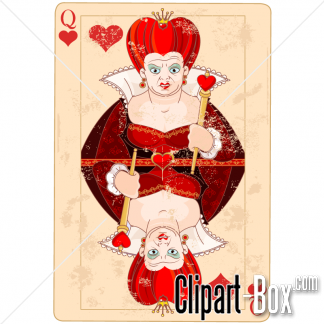 Related Alice   Queen Card Cliparts