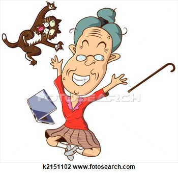 Related Pictures Funny Grandma Clipart #uiq42k - Clipart Kid