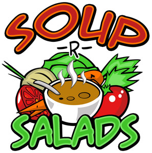 Image result for soup and salad luncheon clip art