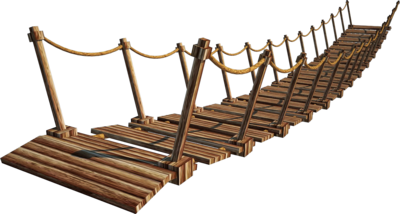 Wooden Bridge 4 A    Suspension Bridge 4 A    Png By Fumar Porros On