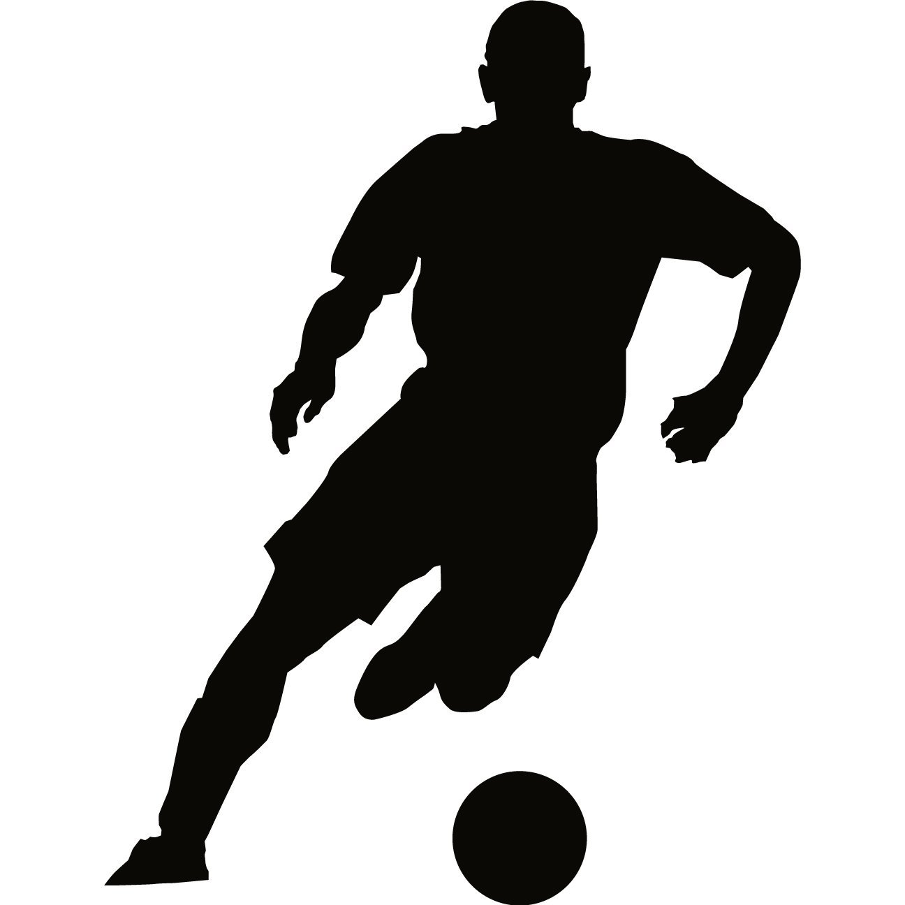 Football Player Silhouette Clipart - Clipart Kid