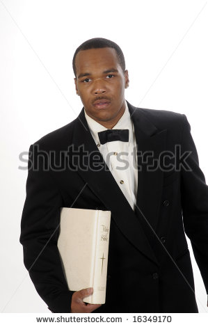 African American Preacher Clipart Young African American