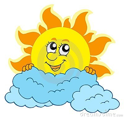 Animated Sun And Clouds   Clipart Panda   Free Clipart Images