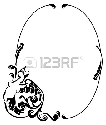 Antique Oval Frame Silhouette 10045473 Oval Silhouette Frame Jpg