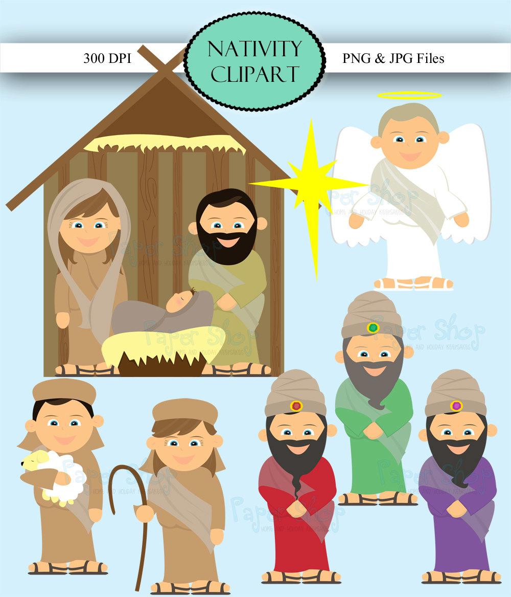 Christmas Manger Clipart - Clipart Kid
