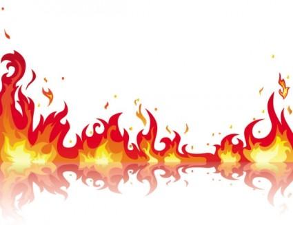 Free Flames Clip Art Frames