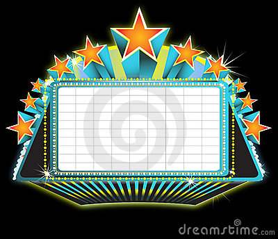 Broadway Theater Sign Clipart Theater Marquee Sign 15750215 Jpg