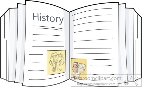 Download History Book Clipart 5772
