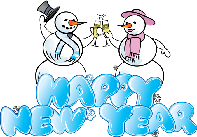 Happy New Year Clipart For Kids And Adults   New Year Clip Art Images