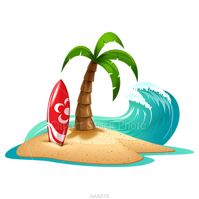 Hawaii Beach Clipart - Clipart Kid