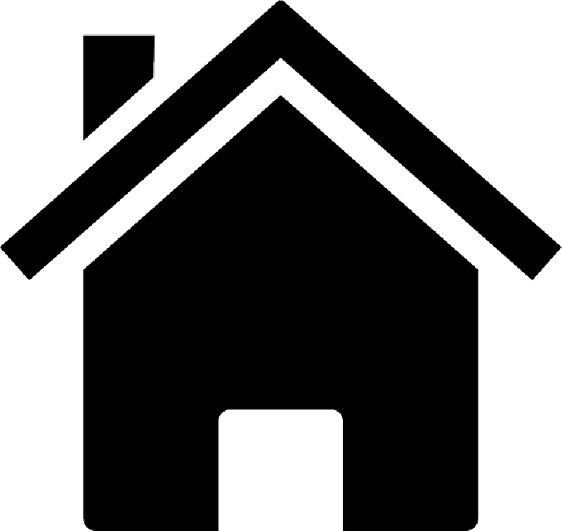 Home House Silhouette Icon Building
