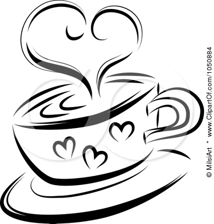 Hot Cocoa Clipart Black And White Cocoa Clipart