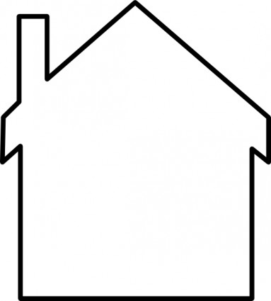 House Silhouette Clip Art Free Vector In Open Office Drawing Svg