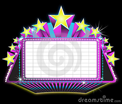 Marquee Sign Clipart