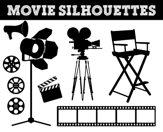 movie film silhouettes camera silhouette by camera clip art transparent background camera clip art free images