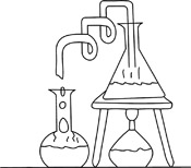 Science Clip Art Black And White