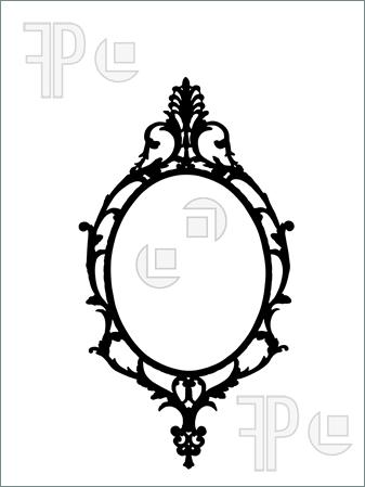 Silhouette Frame Clipart