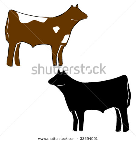 Clip Art Show Steer Clip Art red angus steers clipart kid steer cow stock photos illustrations and vector art