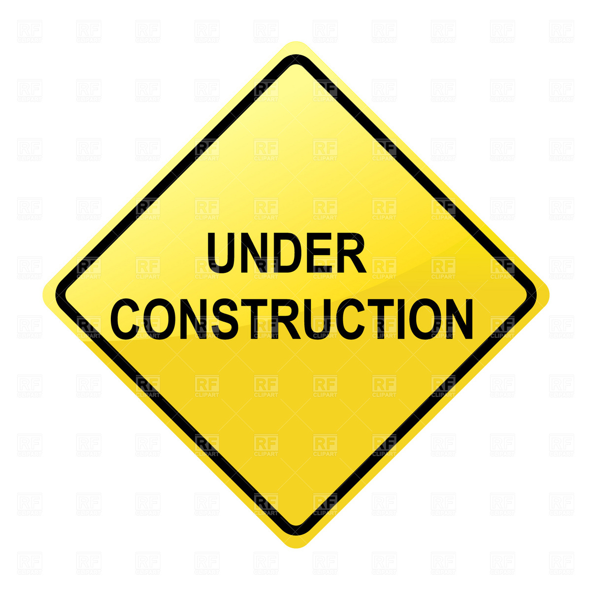 Under Construction Signs Clip Art construction signs clipart - clipart ... Under Construction Signs
